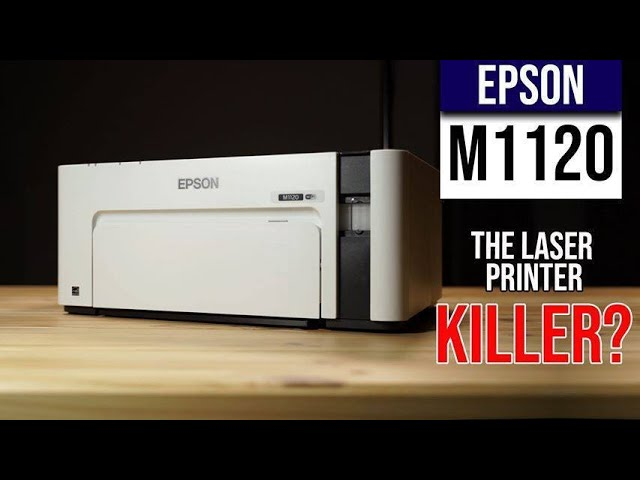 Epson M1120 Ink Printer Review Laser Printer Replacement Youtube