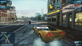 Gameplay/Jugando el NFS Most Wanted 2012 pc