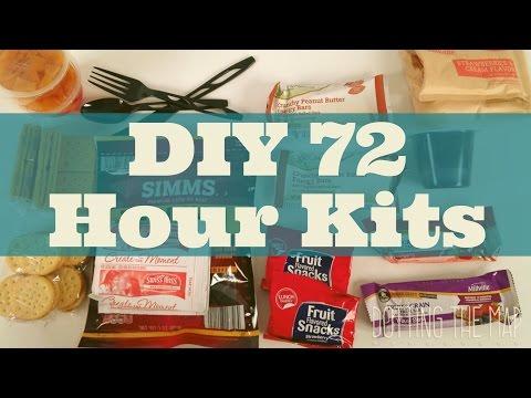 DIY 72 Hour Kit Ideas Pinterest for natural disasters emergency preparedness