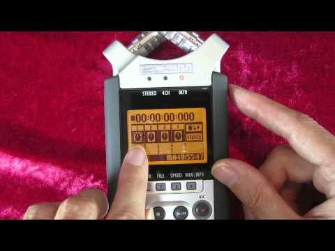 Zoom H4n Tutorial - Moving a Stereo File to MTR & Adding a New Track