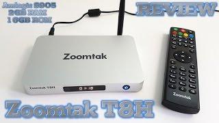 Zoomtak T8H TV BOX REVIEW - Best Amlogic S905 TV Box