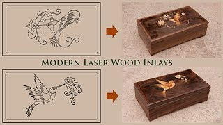 Modern Laser Marquetry And Wood Inlay Technique