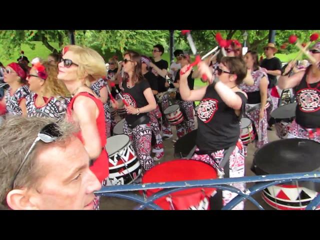 Bristol WNBR 2017 Batala Band