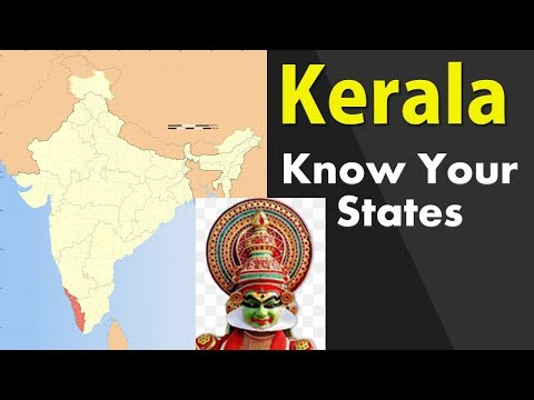 Kerala GK - Information about Kerala state - General Knowledge for Entrance Exams