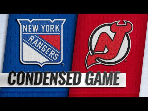 01/31/19 Condensed Game: Rangers @ Devils