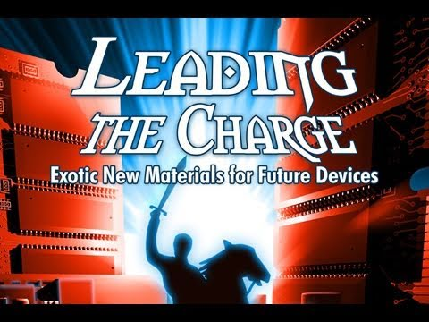 Public Lecture—Leading the Charge: Exotic New Materials for Future Devices