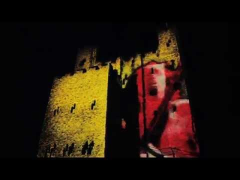 ACDC Vs Iron Man 2 - Architectural Projection Mapping On Rochester Castle - Full Length