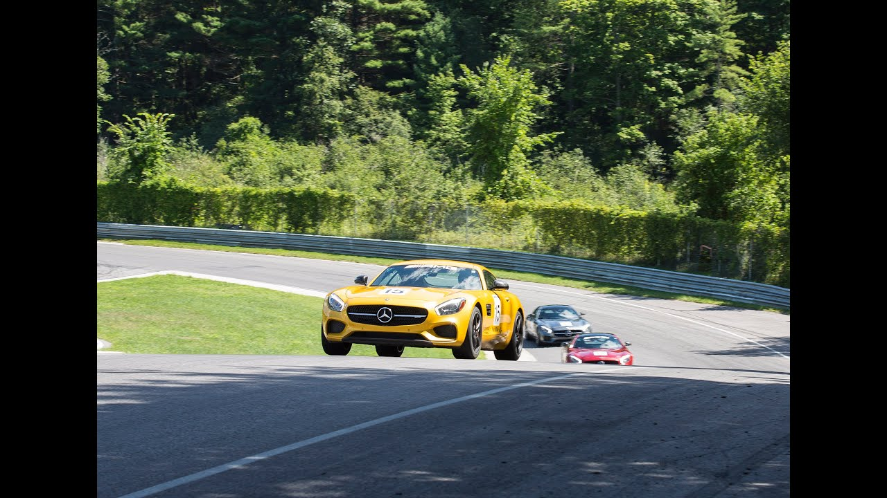 2016 AMG Lead and Follow Lime Rock Park Mercedes Benz GTS