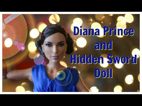 Doll Review #10: Diana Prince And Hidden Sword Doll Review 2017. ADULT DOLL COLLECTOR