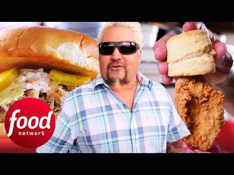 Super Crispy Fried Chicken Recipe | Diners, Drive-Ins & Dives