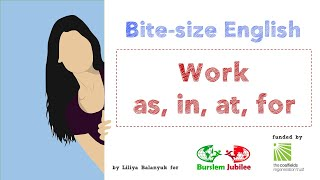 20   Work & Prepositions English Lesson