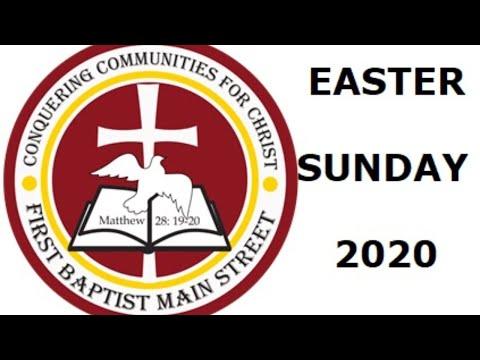 April 12, 2020 Easter Sunday