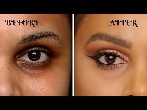 HOW TO COVER DARK CIRCLES AND PIGMENTATION | INDIAN/ TAN SKIN