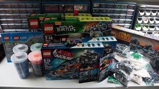 Lego Haul #36 - June 5, 2015 - Lego Store, Bricklink, Walmart, SigFigs