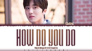 SF9 CHANI - 'HOW DO YOU DO' (TRUE BEAUTY OST PART 9) Lyrics [Color Coded_Han_Rom_Eng]