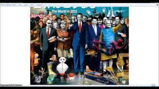 Qatar New World Order And the Alien Worms. Illuminati Freemason Symbolism.