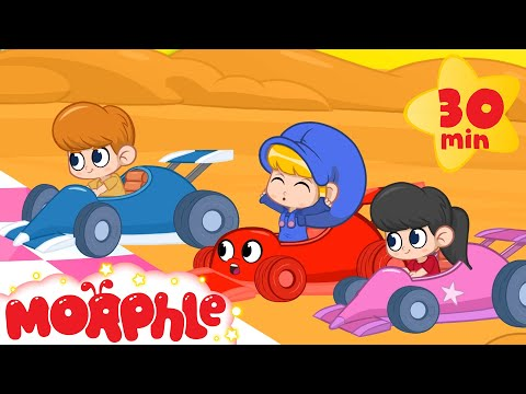My Magic Race car Morphle And The Fantasy Race! - Kids racecar Animation Video episodes