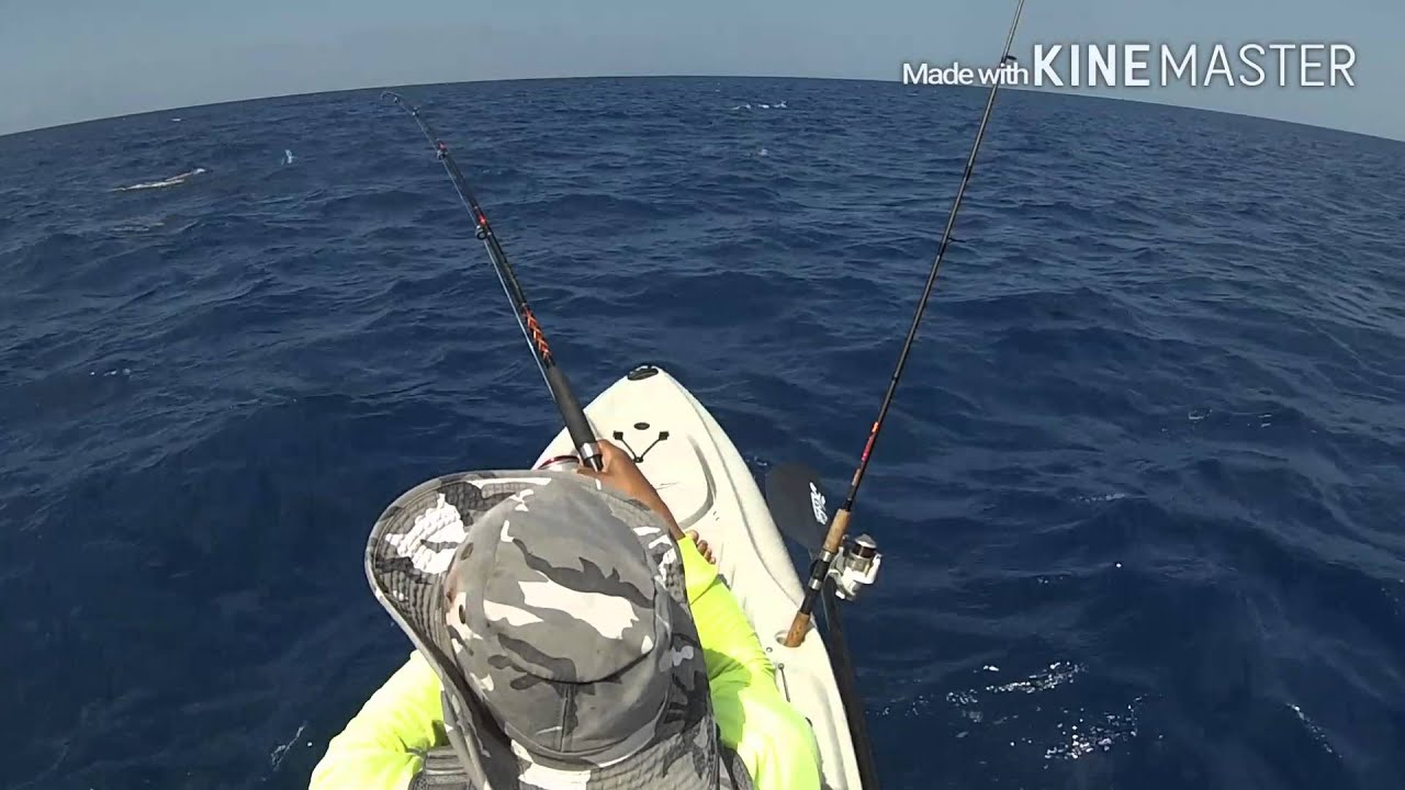 Extreme kayak hawaii fishing youtube for Kayak fishing hawaii
