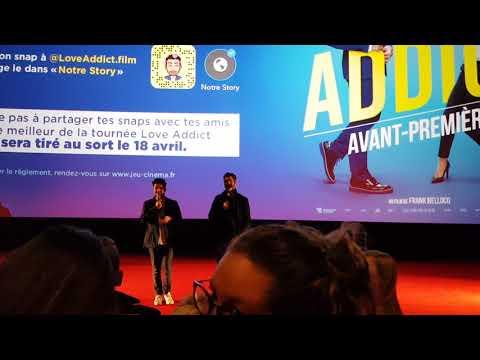 Avant première de Love Addict à Orléans le 20/03/2018