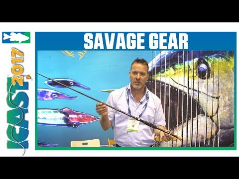 New Savage Gear Browser Rods With Mads | ICAST 2017
