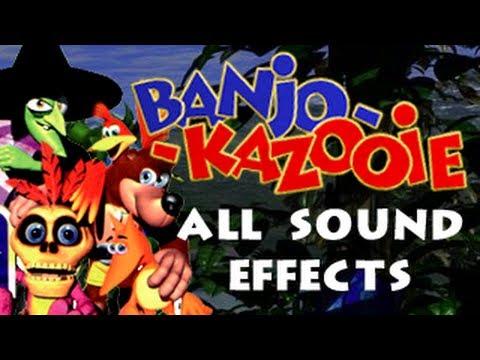 Banjo-Kazooie: All Sound Effects