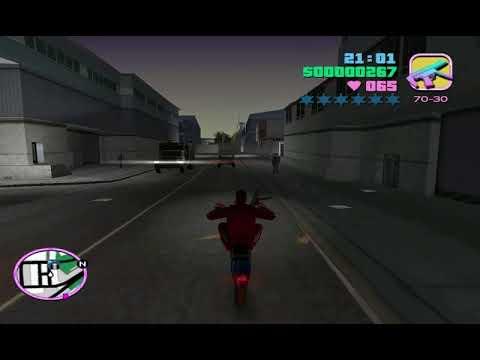 Hướng Dẫn Bốc đầu đi Quanh Phố GTA Vice City