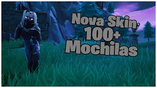 SHOWING THE * NEW * SKIN DARKO & 100 + BACKPACKS | FORTNITE