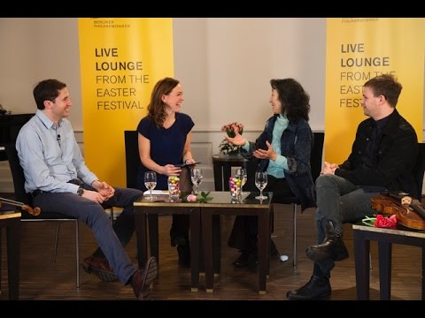 The Berliner Philharmoniker's Live Lounge at the 2016 Baden-Baden Easter Festival