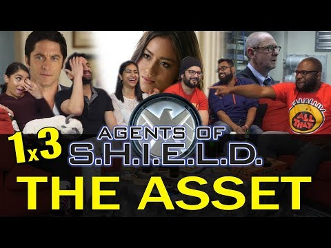 Agents of Shield - 1x3 The Asset - Group Reaction