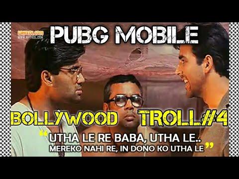 PUBG MOBILE BOLLYWOOD TROLLING #4