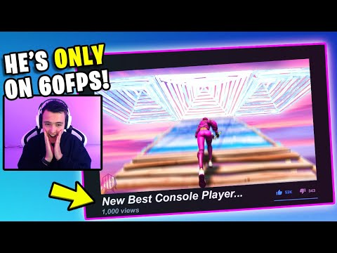 Reacting To The *NEW BEST* Console Player...