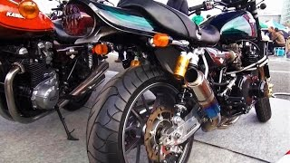 【KAWASAKI Z1カスタム】 排気音 Exhaust エキゾースト 旧車天国 2015 お台場 KYUSHA TENGOKU ODAIBA