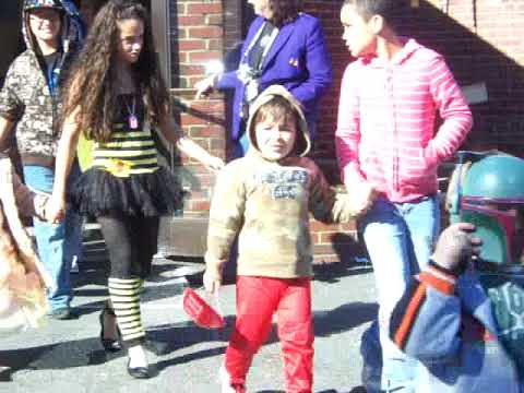 Isabella was at the South Amboy Elementary School Halloween Parade in 2008.