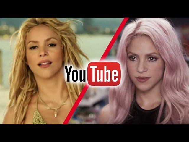 Most Viewed Shakira Videos