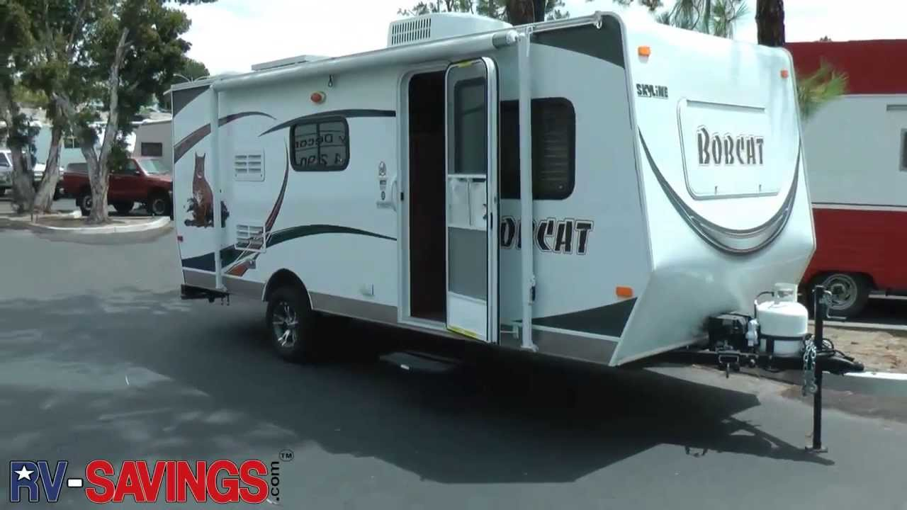 Bobcat Travel Trailer