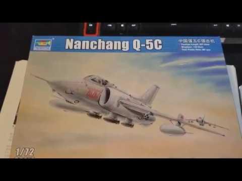 Trumpeter 1 72 Nanchang Q 5C Quick Unboxing