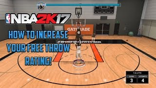 How to Increase Your Free Throw Rating in NBA 2K17 MyCareer **Update in Descrp. 9/27/2016**