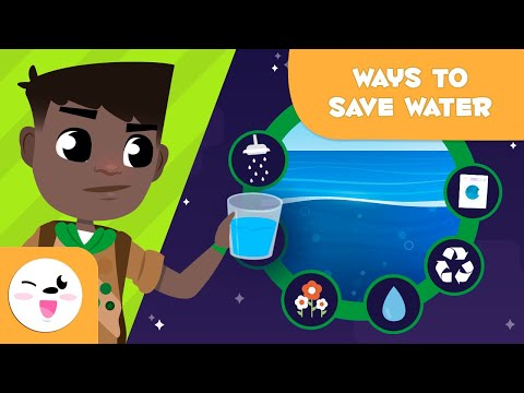 Water Saving Tips and Tricks - Let's Save the Planet - The Environment for Kids