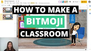 How to make an INTERACTIVE Bitmoji Classroom. ✨ Use Google Slides to create your own VIRTUAL ROOM.