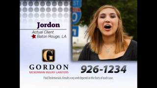 Rear-End Car Wreck I-10 | Get Gordon | Gordon McKernan Injury Attorneys | Jordan