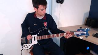 Yes - Roundabout Bass Cover, Rickenbacker 4003