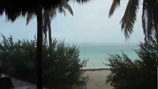 Isla Contoy - Paraíso natural en Yucatán, Mexico - Chubasco!!! Tormenta Tropical HD