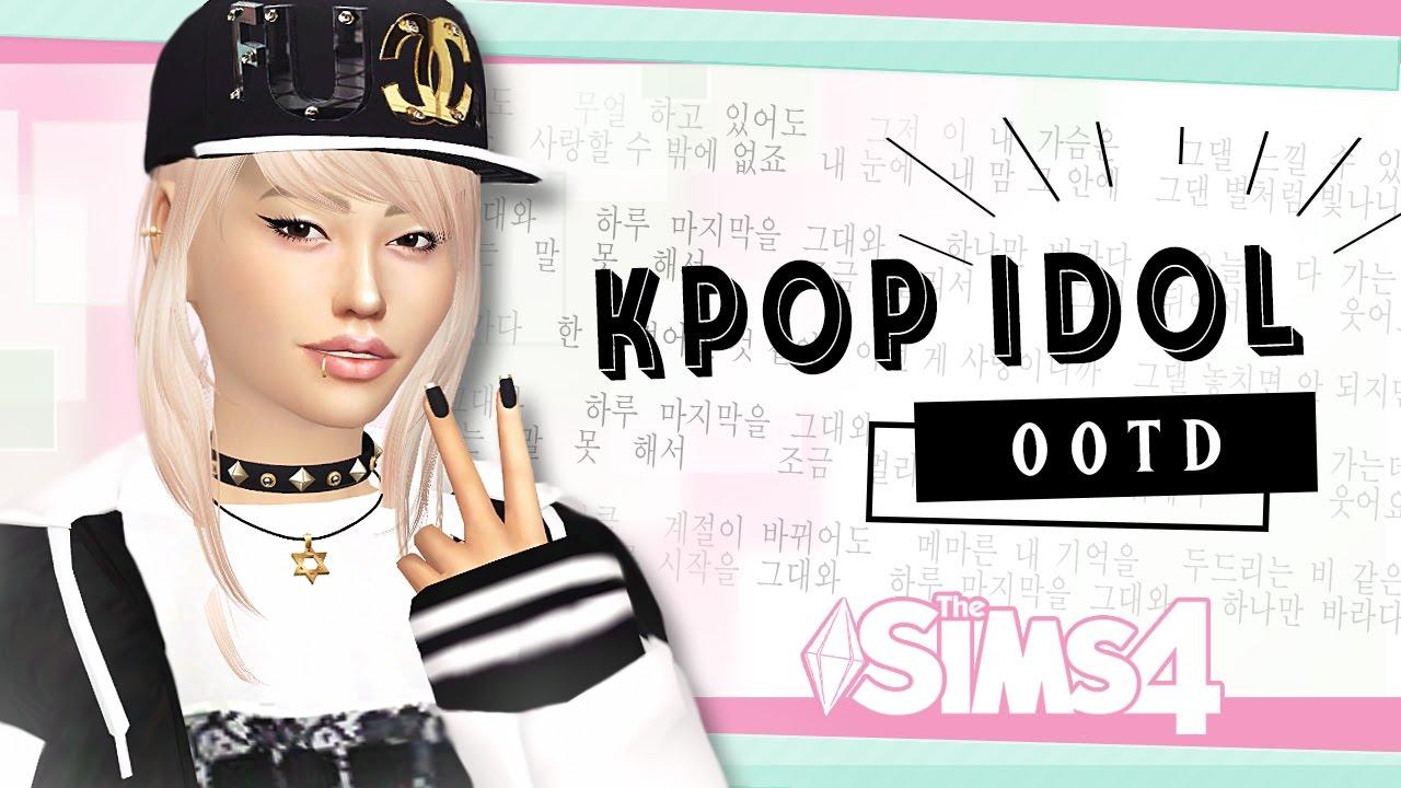 Kpop cc sims 4