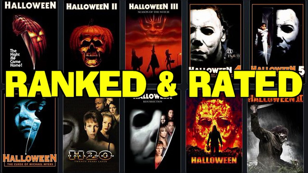 Ranking the HALLOWEEN movie franchise! - YouTube