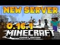 MINECRAFT PE 0.16.1 - NEW MCPE SERVER!! - Skywars & Survival Games -  Minecraft PE (Pocket Edition)
