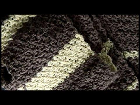 Crochet Seed Stitch Scarf (and Stitch Pattern) - YouTube
