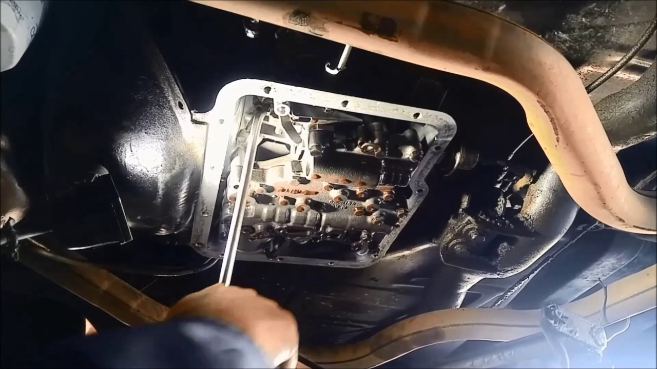 powerglide replace manual shaft selector seal low band adjustment service [ 1280 x 720 Pixel ]