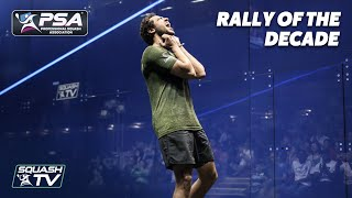 Squash: TOP 10 MEN'S RALLIES OF THE DECADE
