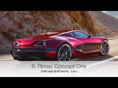 10 Fastest Accelerating Production Cars 2014 (0-60)