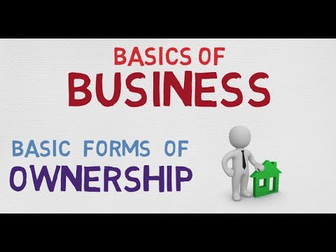 BASIC FORMS OF OWNERSHIP | BASICS OF BUSINESS